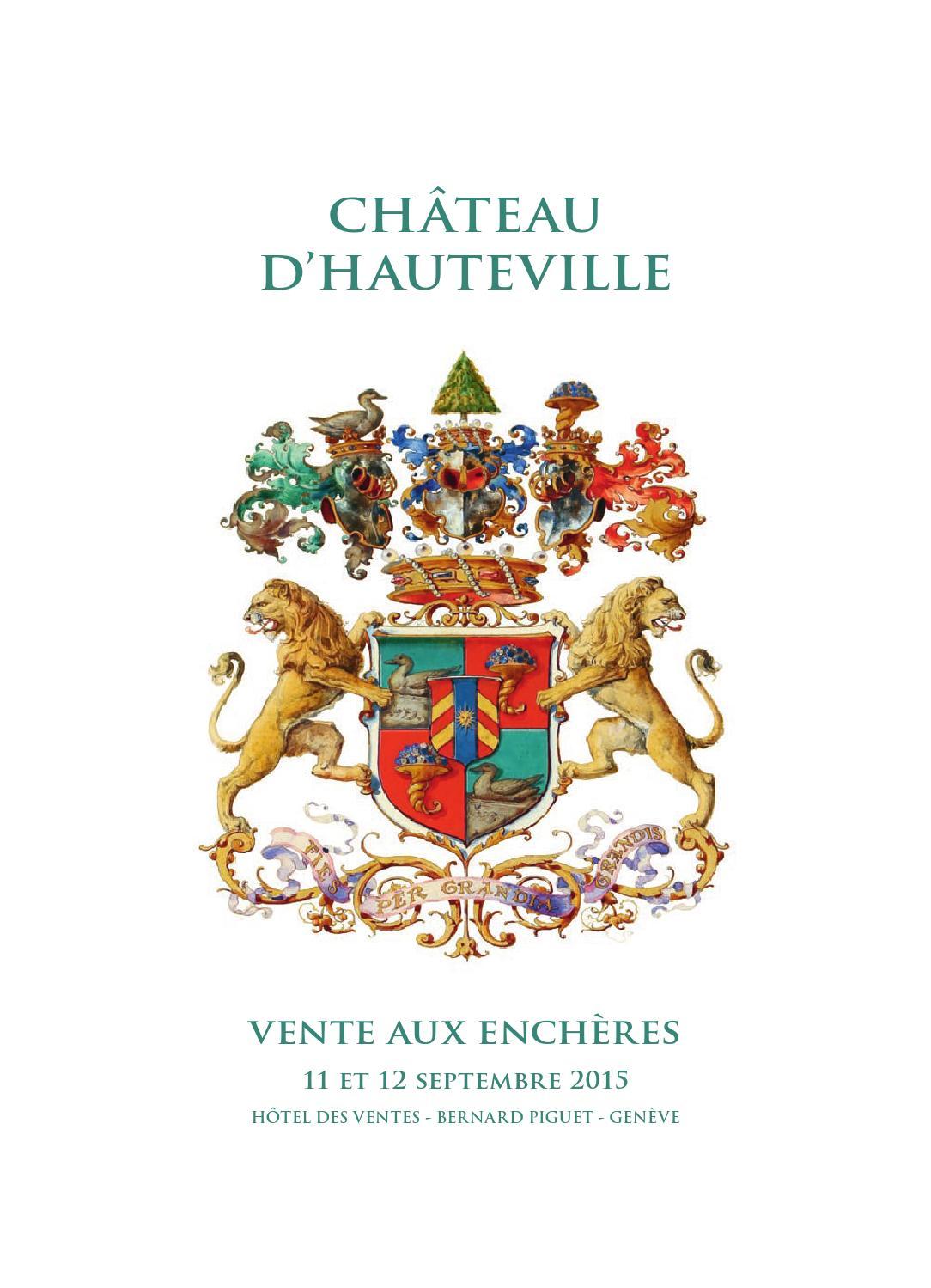 Hdv Vente Hauteville 2015 Catalogue Principal Pdf By Piguet Htel Des Ventes