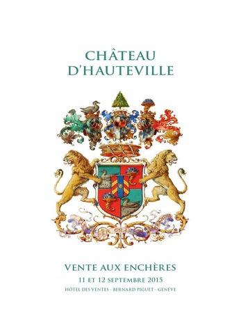 a9f8a64d7705 Hdv vente Hauteville 2015 catalogue principal pdf by Piguet Hôtel ...
