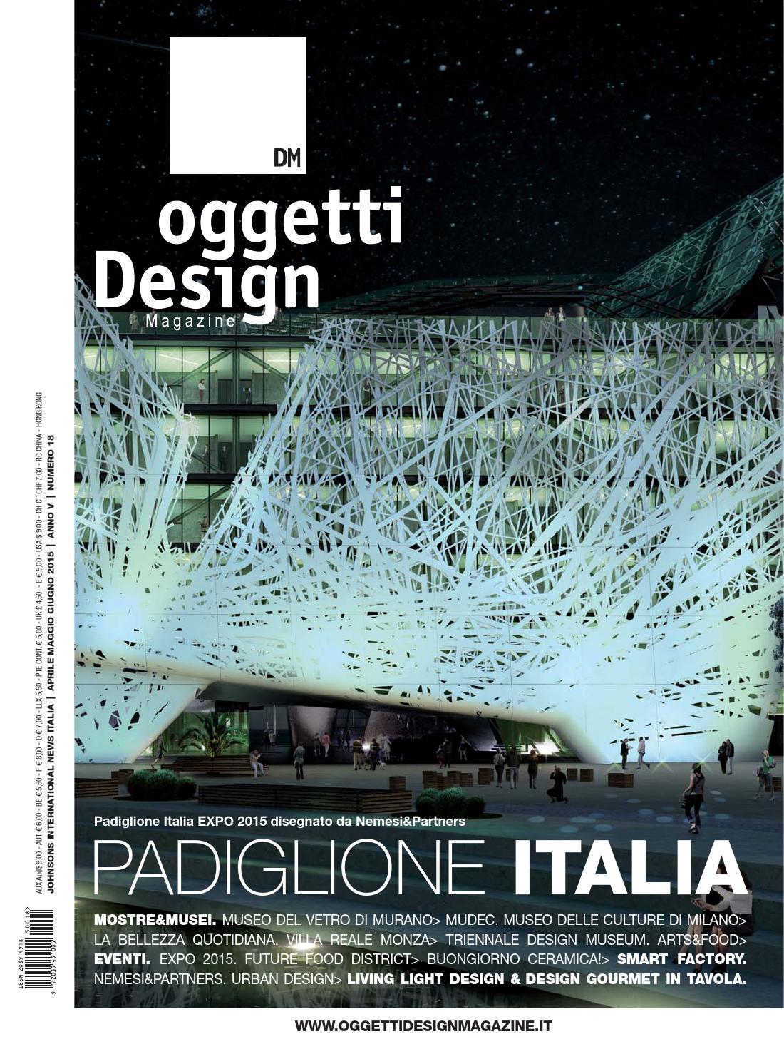 DM oggetti Design Magazine N.18 by Board.tv - Johnson Web srl - issuu d90ba9f1c71b