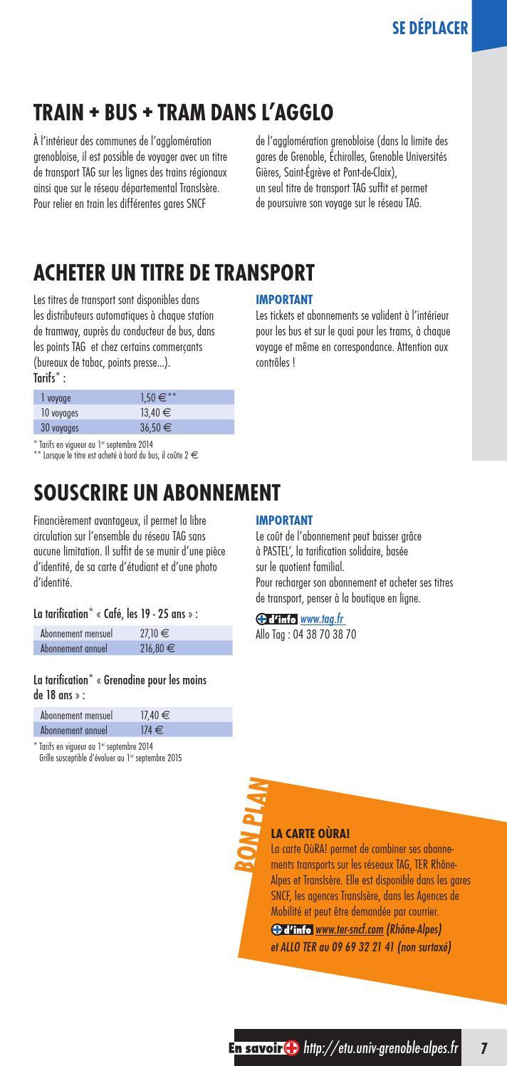 LE GUIDE DE LA VIE ÉTUDIANTE • 32 32 • UNIVERSITÉ GRENOBLE ...