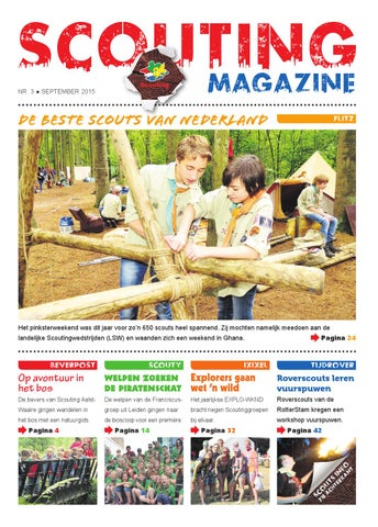 0712e932ef4 Scouting Magazine - September 2015 by Scouting Nederland - issuu
