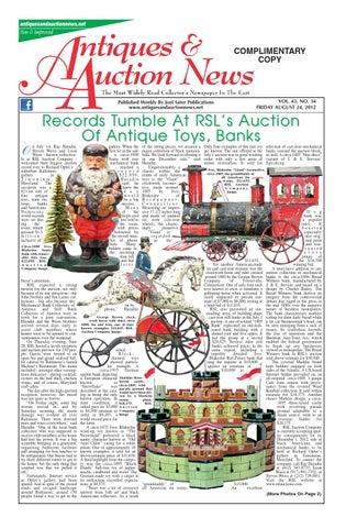 Antiques & Auction News 082412 by Antiques & Auction News