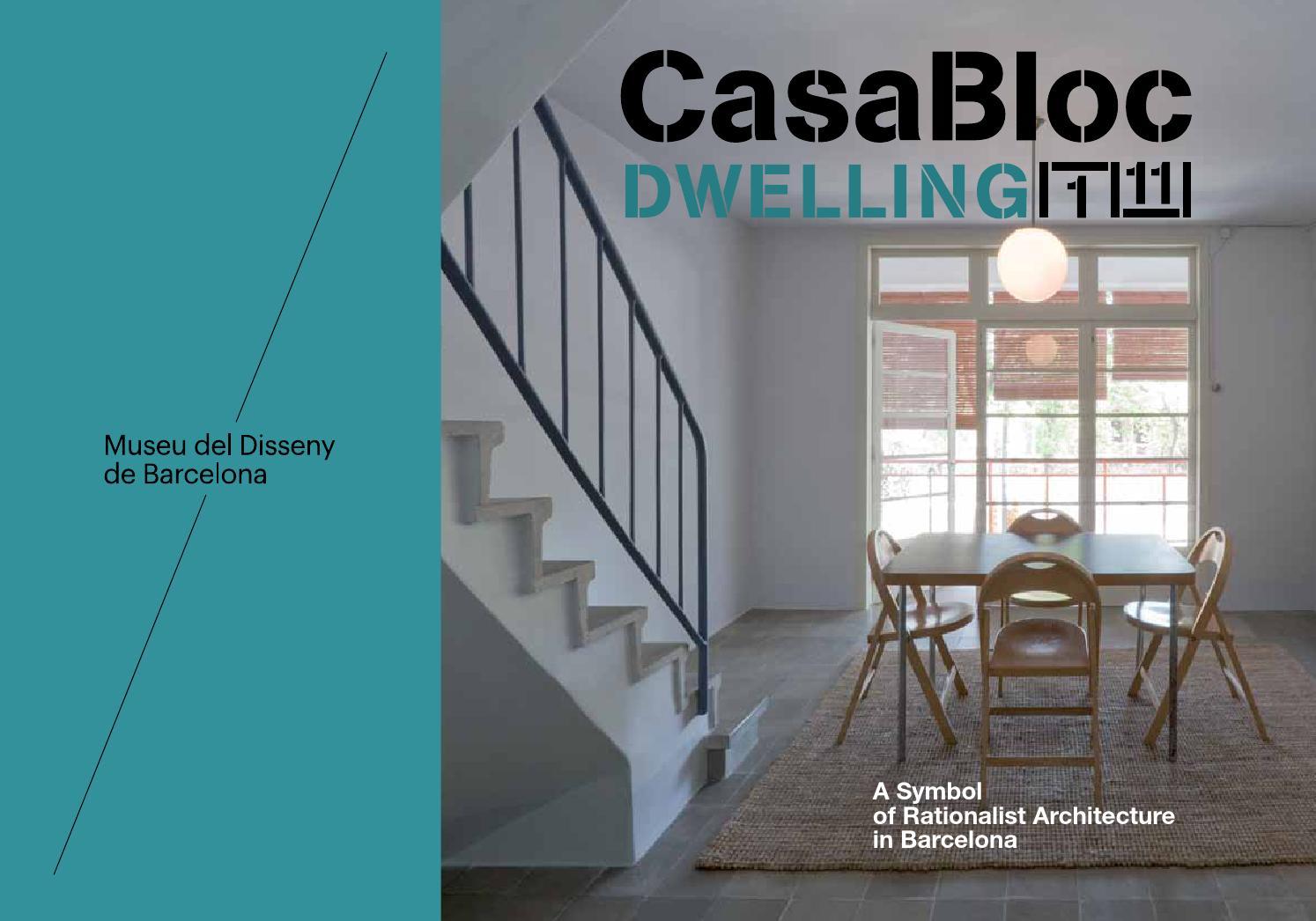Archi In Casa Moderna brochure museum-apartment casa bloc, dwelling 1/11. museu