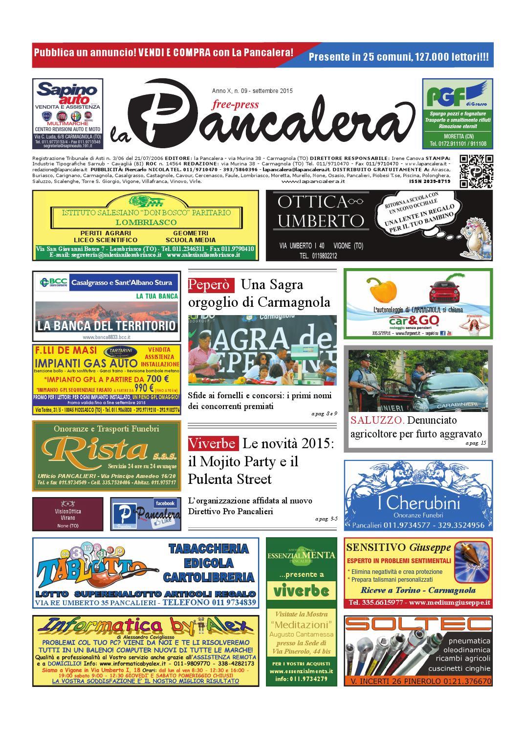 La pancalera settembre 2015 by la Pancalera issuu