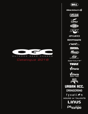 b548240134f3f7 2016 ogc catalogue by Outdoor Gear Canada - issuu