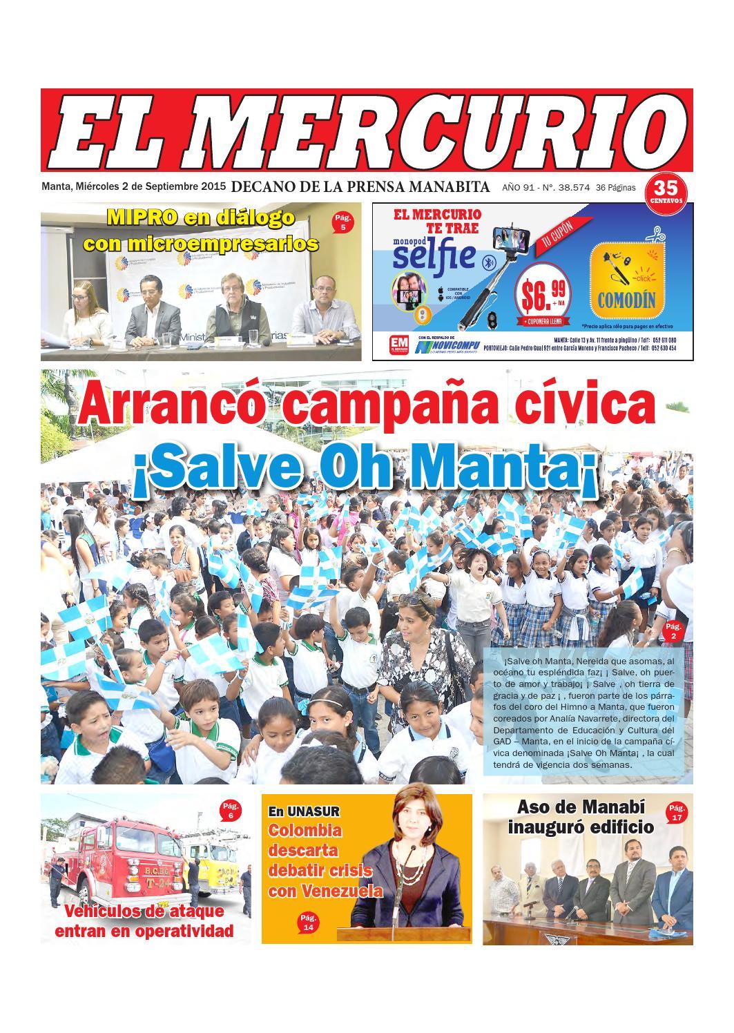 Miércoles 2 de septiembre del 2015 by Diario El mercurio - issuu