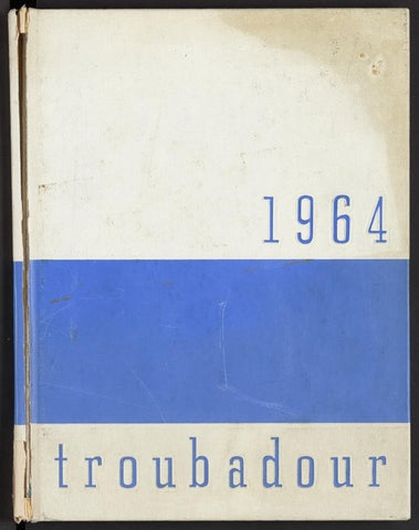 1964 Troubadour By Old Dominion University