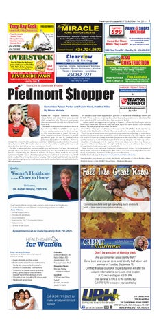 Piedmont Shopper September 3 - 9, 2015 by piedmont shopper