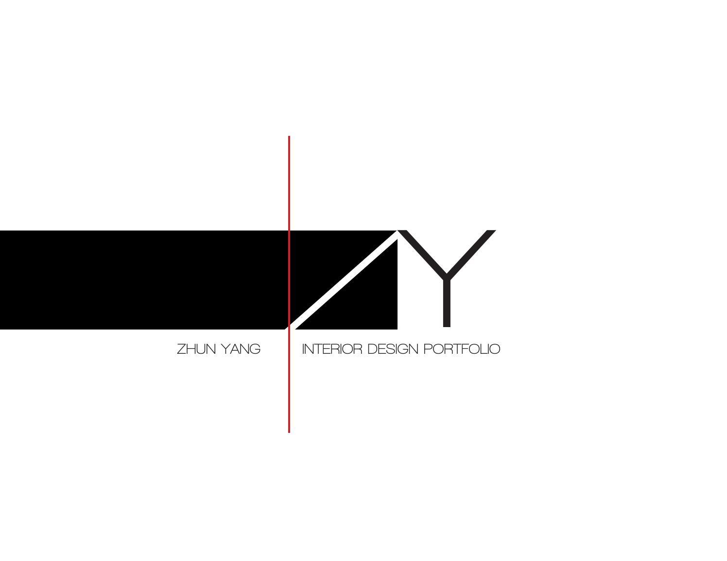 Zhun Yang Interior Design Portfolio By Zhun Yang Issuu