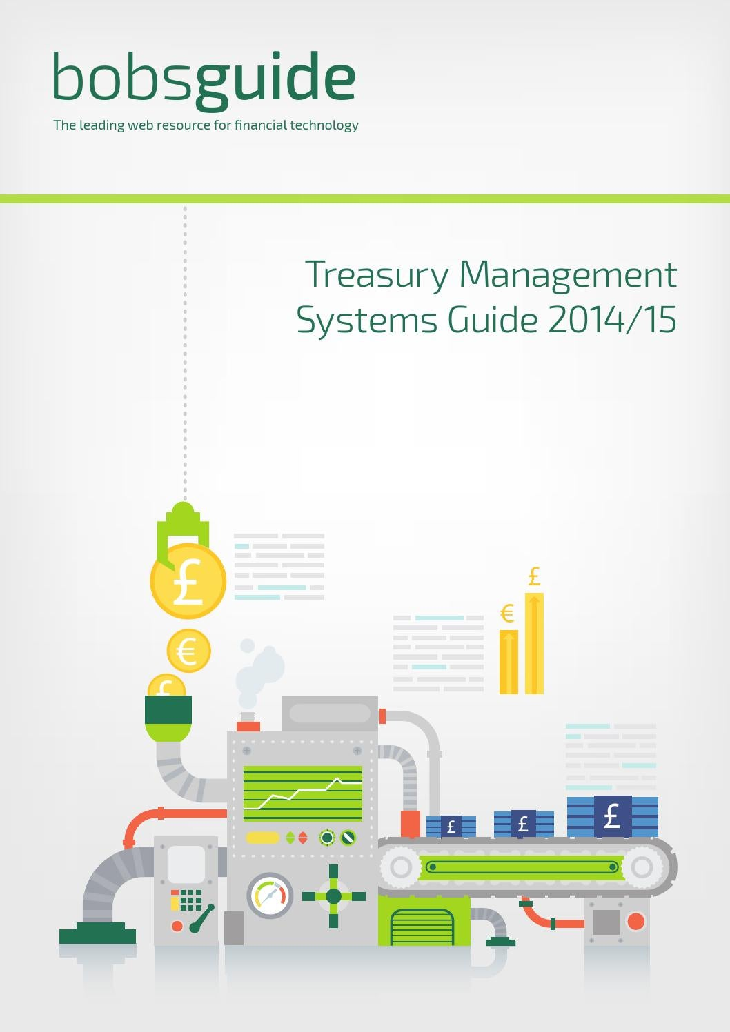 Technology Management Image: Treasury Management Systems Guide 2014/2015 By Bobsguide