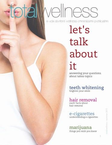 Let's Talk about It by Total Wellness Magazine - issuu