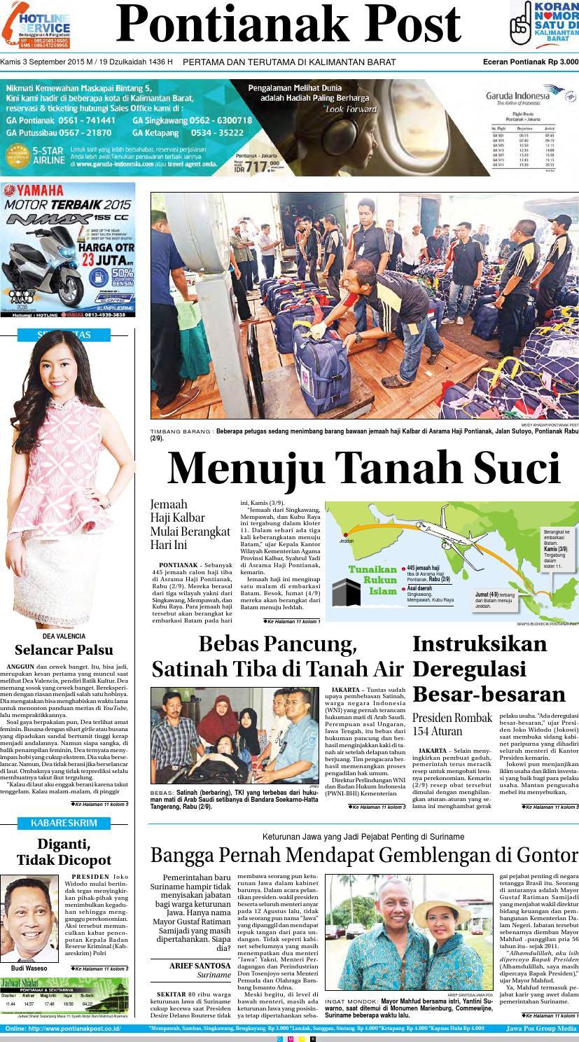 Pontianak Post Pertama Dan Terutama Di Kalimantan Barat By Produk Ukm Bumn Keripik Sukun 200 Gr Issuu