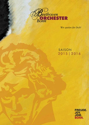 Jahresprogramm Beethoven Orchester Bonn by Beethoven