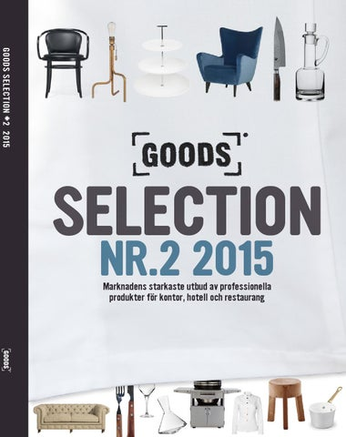 huge selection of 52888 c8b4e Goods webbkatalog Nr. 2 - 2015 by Goods Sweden AB - issuu