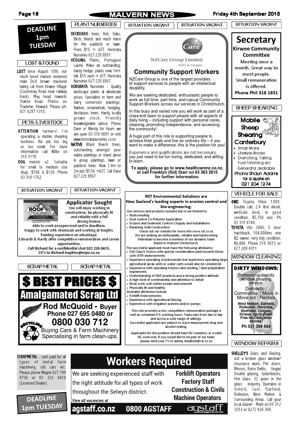 Issue 710 Friday 4th September 2015 By Malvern News Issuu