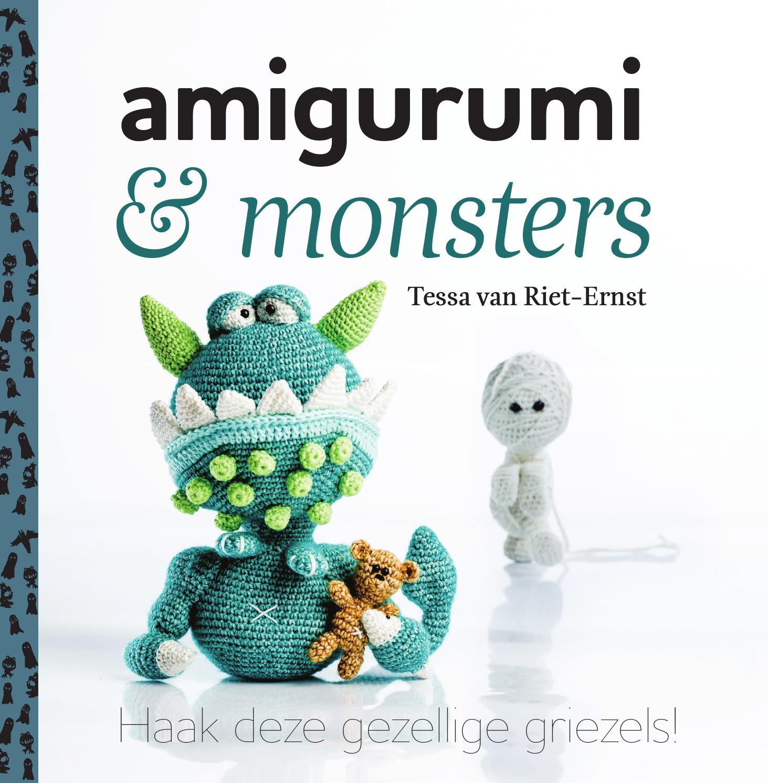 Inkijkexemplaar Amigurumi Monsters Tessa Van Riet Ernst By