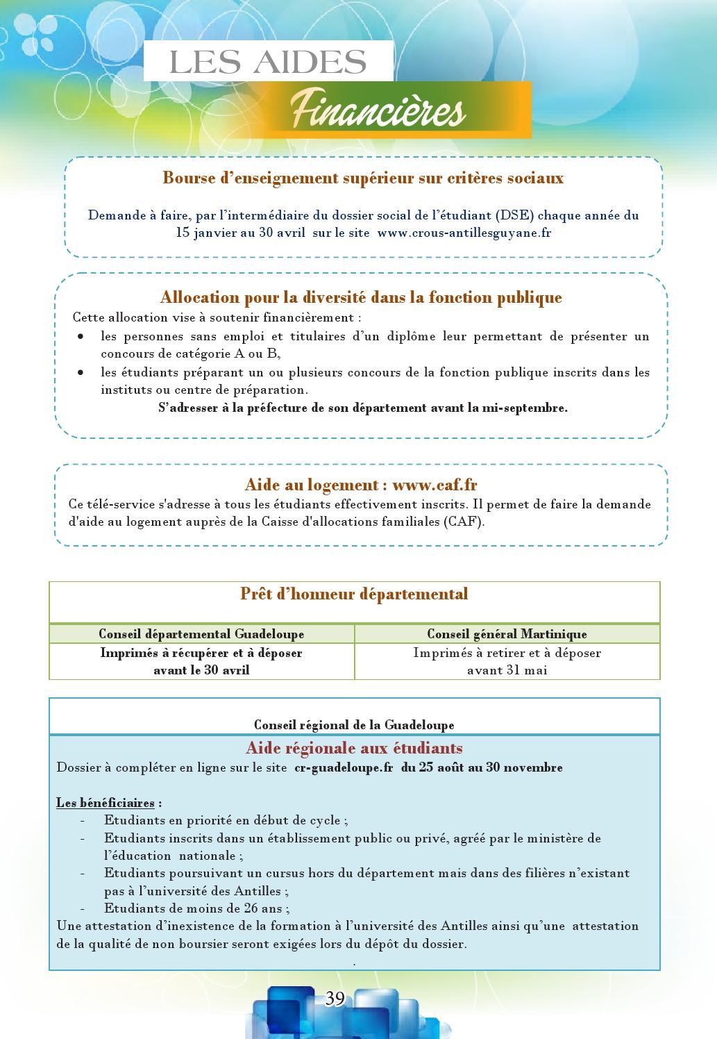 Pret D Honneur Etudiant Caf