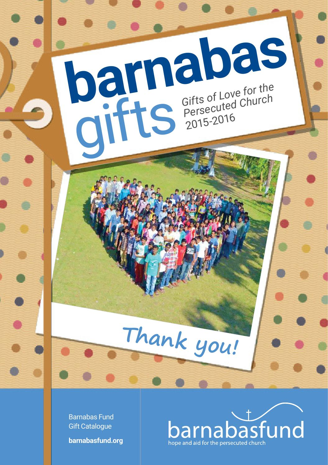 barnabas gifts 20152016 by barnabas fund issuu