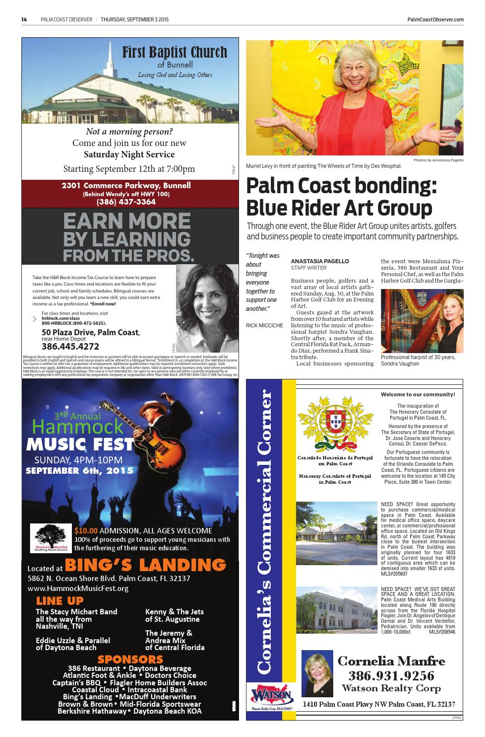 Palm Coast Observer Online 09-03-15 by Brian McMillan - issuu