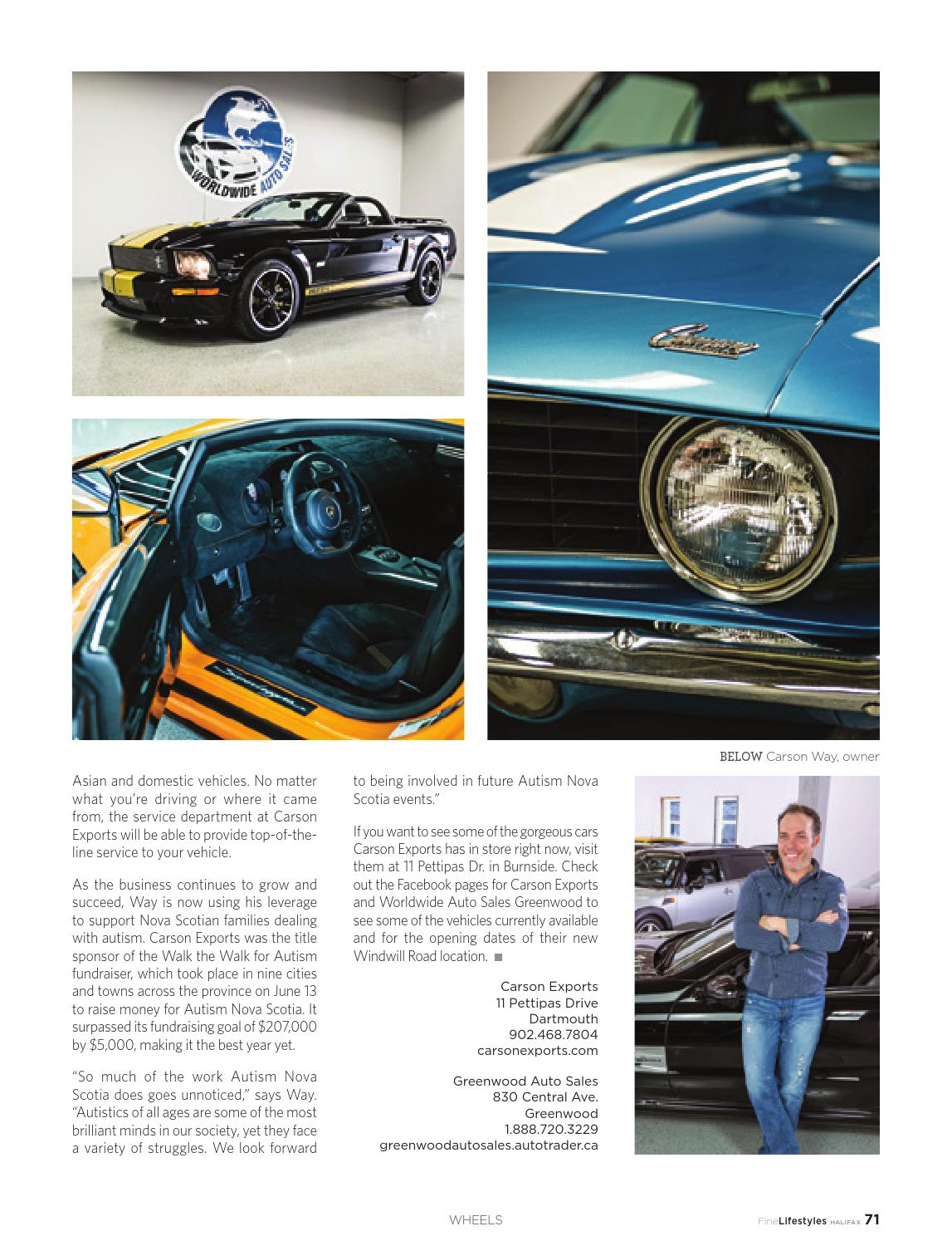 Fine Lifestyles Halifax Volume 4 Issue 3 2015 by Fine Lifestyles ...