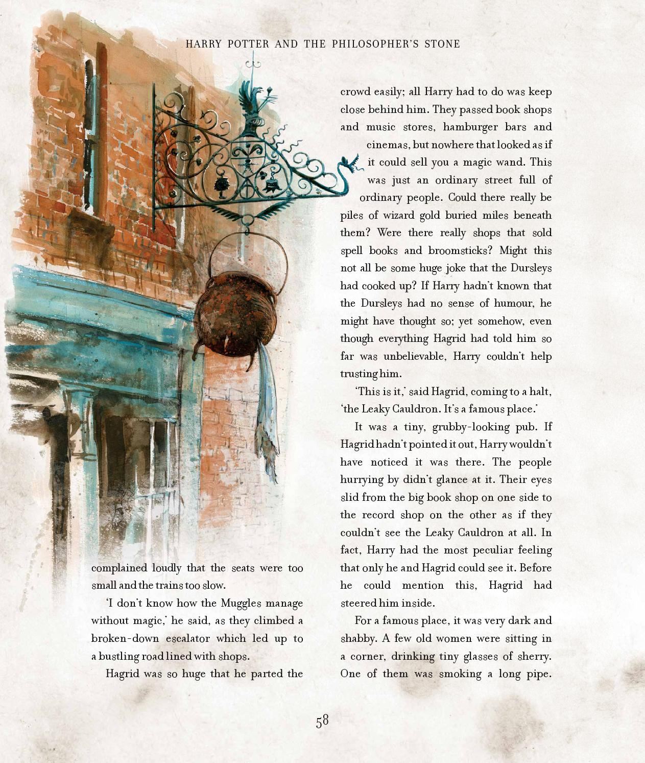 Harry Potter Book Extract : Harry potter and the philosopher s stone by j k rowling