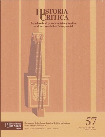 Revista Historia Critica No 57 By Publicaciones Faciso Issuu