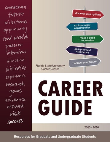 FSU Career Guide 2015-2016 by Florida State University