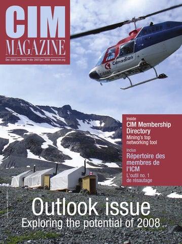 f918e258cf CIM Magazine Dec'07/Jan'08 by CIM-ICM Publications - issuu