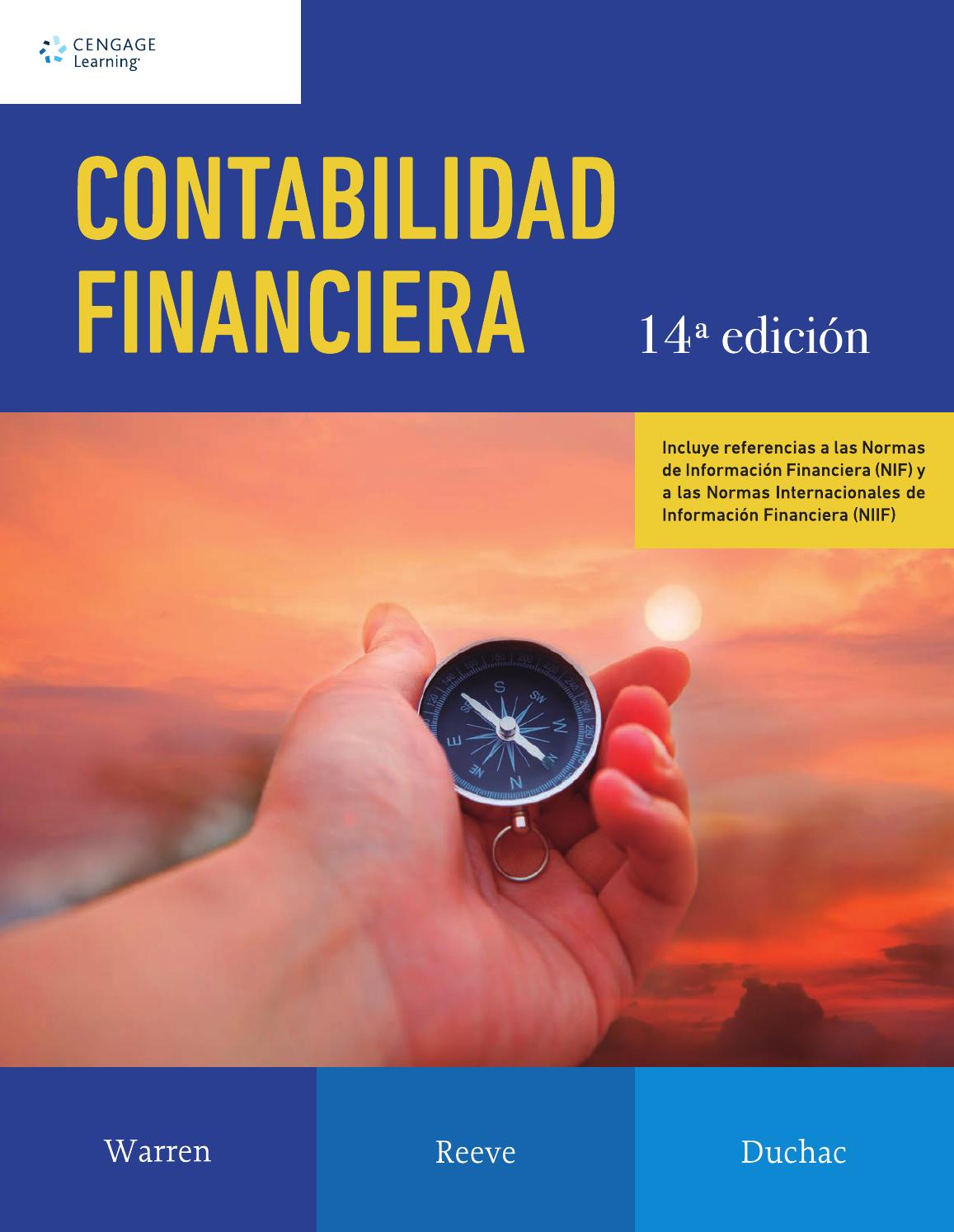 Contabilidad Financiera. 14a Ed. Carl S. Warren, James M. Reeves y ...