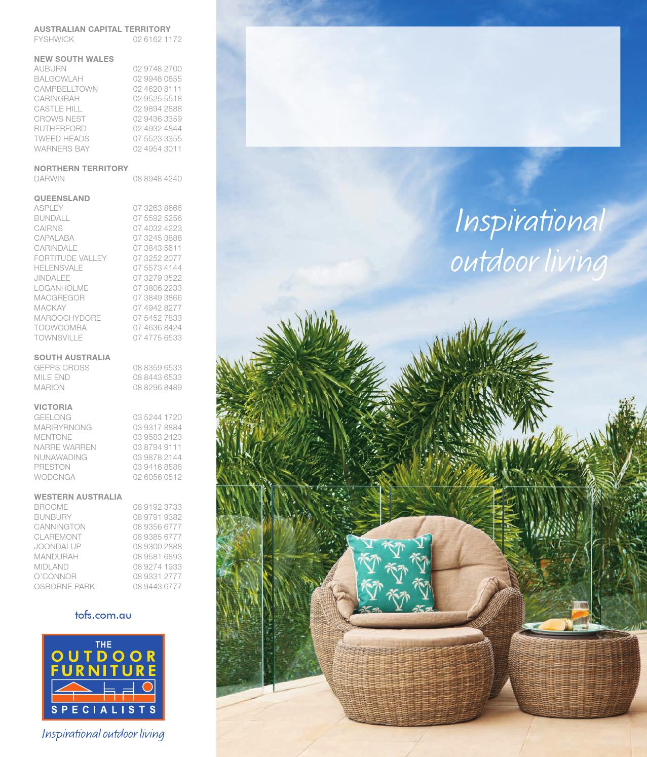 Catalogue 2015 2016 the outdoor furniture specialists