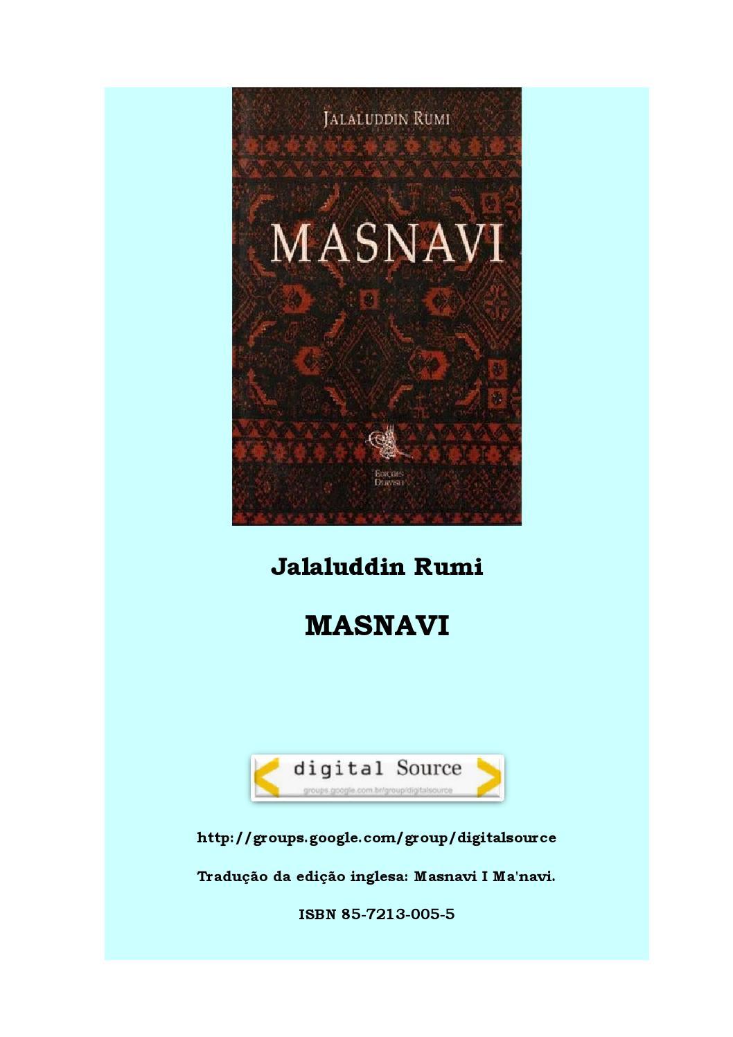O MASNAVI by Marcelo Ariel - issuu fe401502375