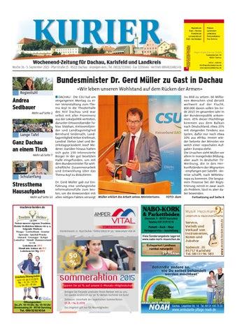 KW 36-2015 by Wochenanzeiger Medien GmbH - issuu