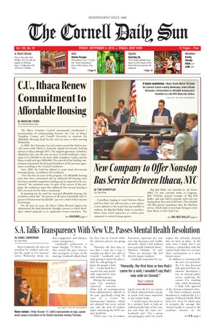 09 04 15 entire issue lo res by The Cornell Daily Sun - issuu
