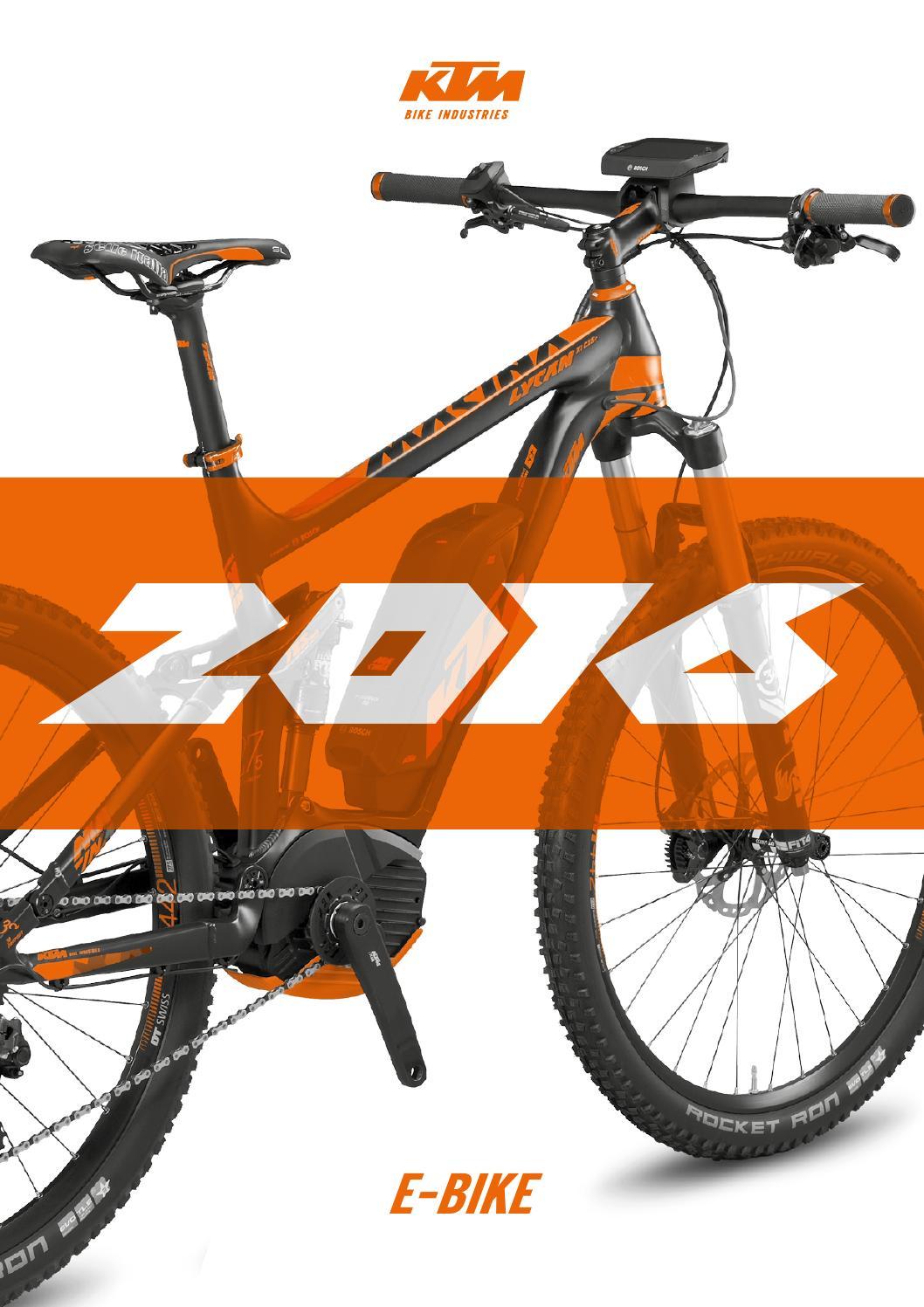 KTM E-Bike 2016 by KTM Bike Industries - issuu