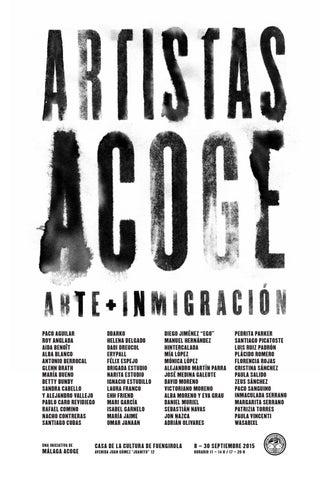 pretty nice 1b343 5dcf0 Artistas Acoge · Exposición en Fuengirola