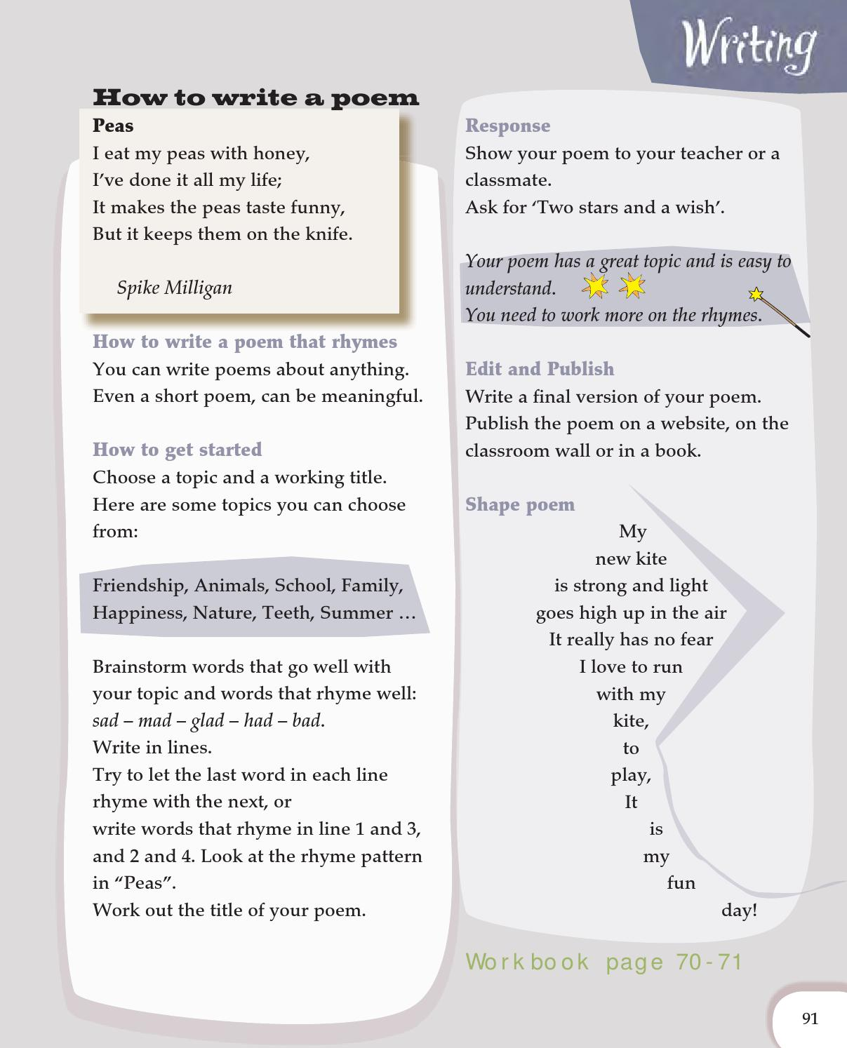 Rhyming Patterns In Poems Unique Decorating