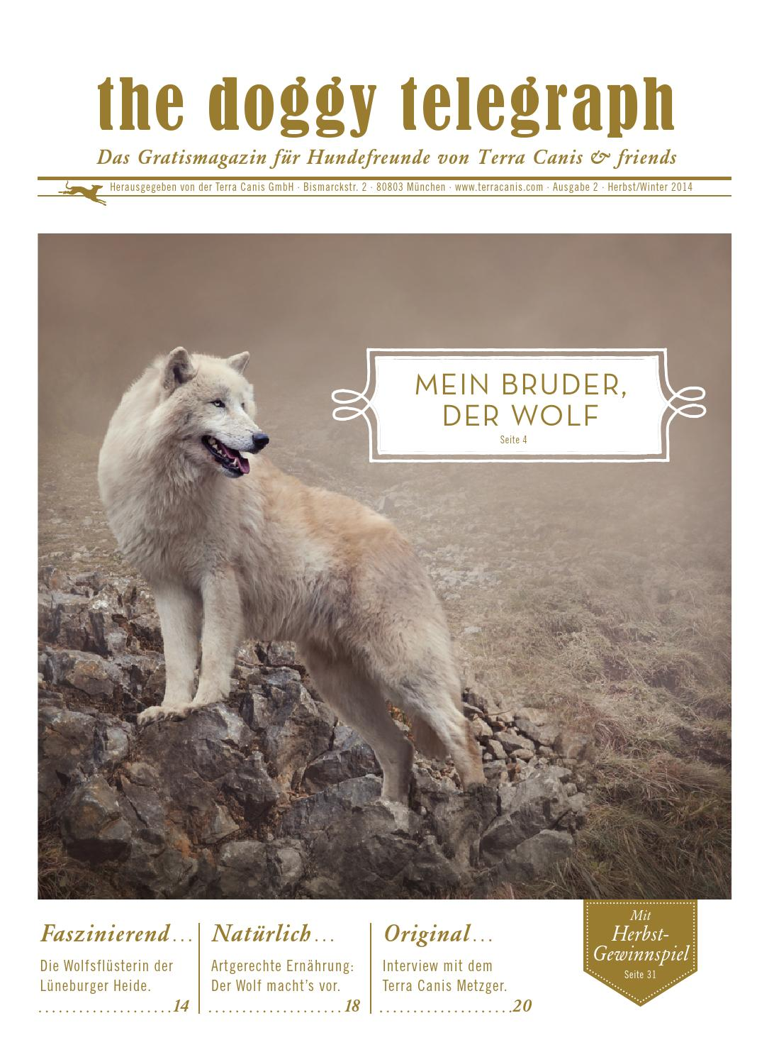 The Doggy Telegraph Terra By 22014 Canis Issuu O8wPnk0