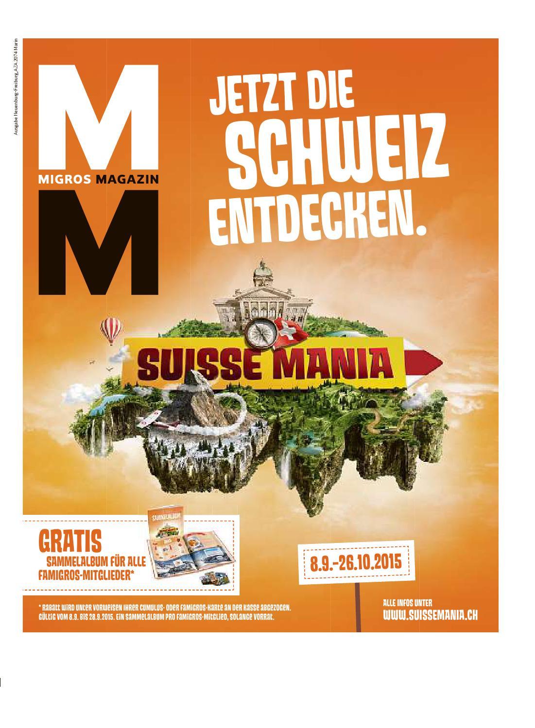 Migros Magazin 37 2015 D Ne By Migros Genossenschafts Bund Issuu