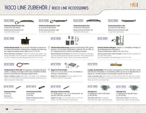 ROCO 42612 Übergangs-Schienenverbinder 24 Stk H0