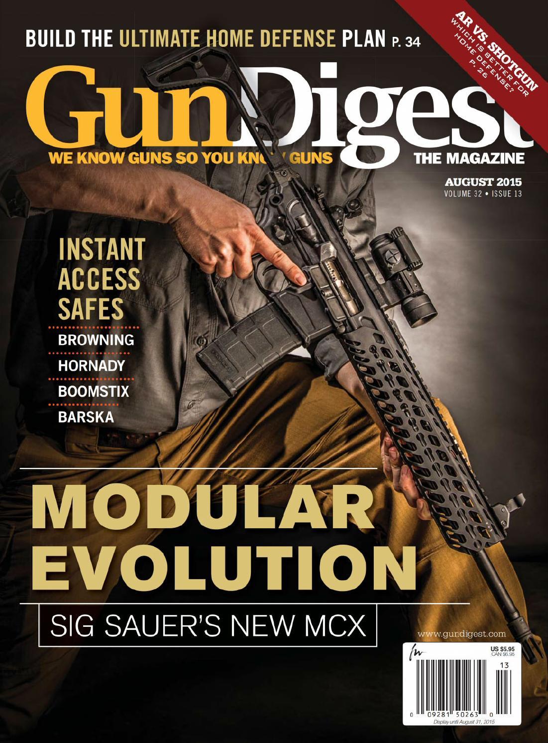 Gun Digest August 2015 Usa By Sensei Issuu Mossberg 702 Exploded Diagram