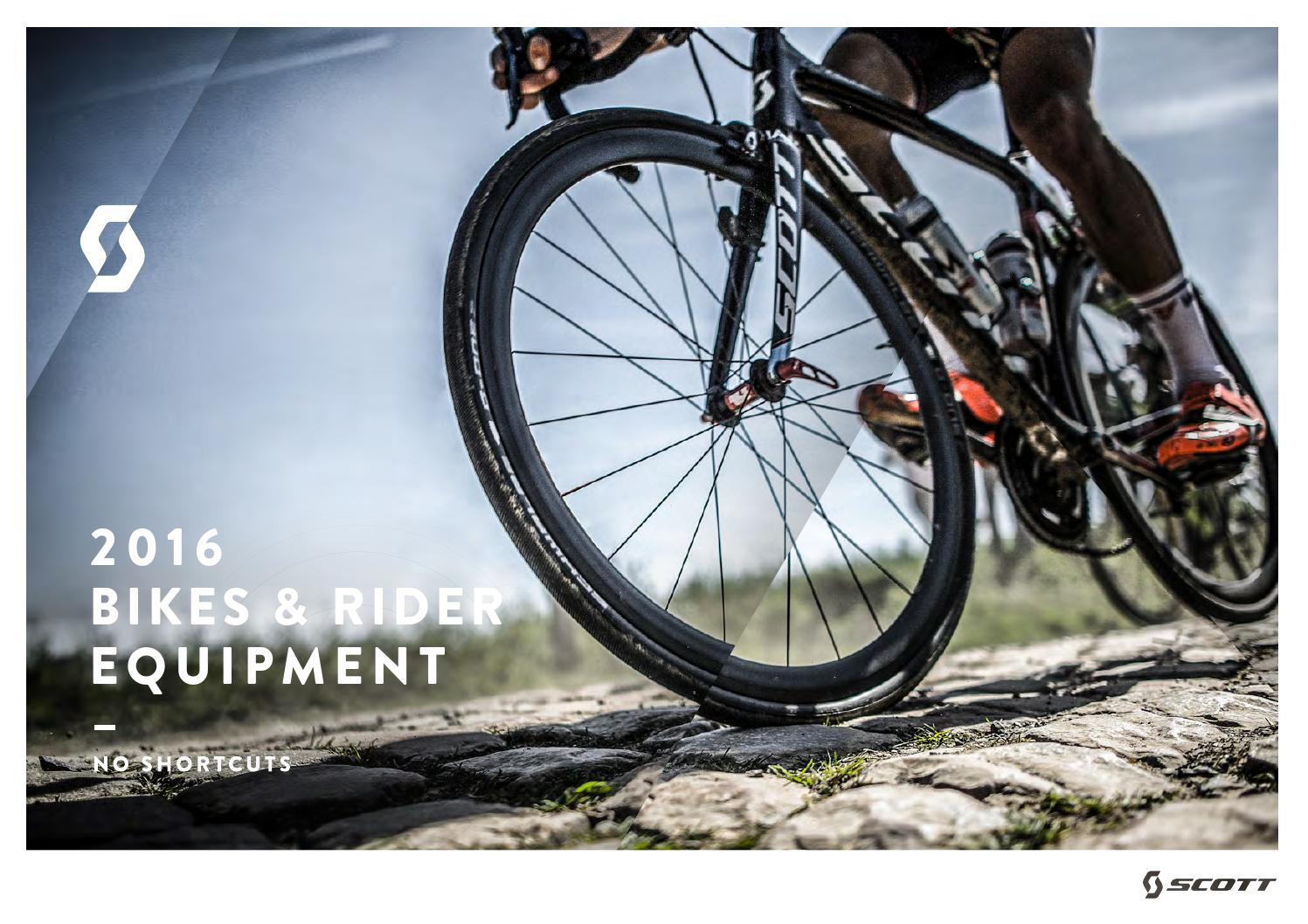 2016 bike consumer catalogue a4 de iss by SCOTT Sports SA - issuu