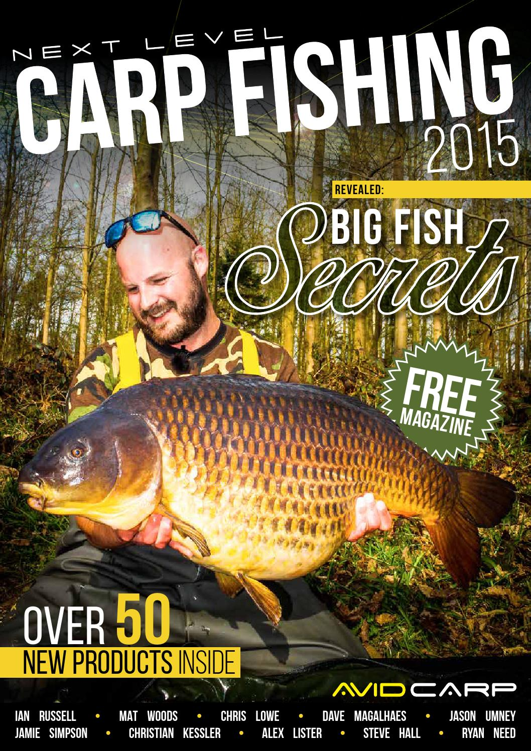 79e5b581333 Next Level Carp Fishing 2015 by Fishing UK - issuu