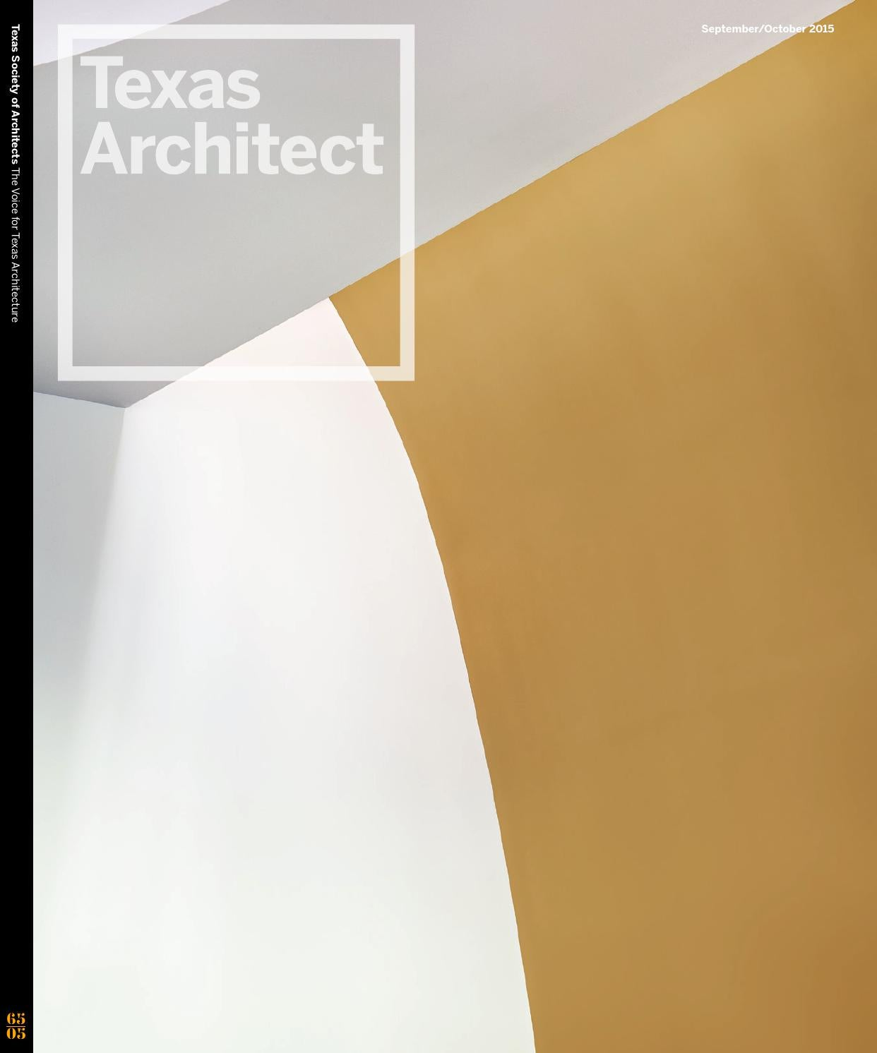 Texas Architect September October 2015 Design Awards By 1 2009 Wiring Diagrams Leave A Comment Society Of Architects Issuu