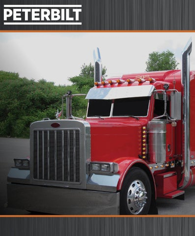 Trux Accessories Peterbilt Catalog by Trux Accessories - issuu