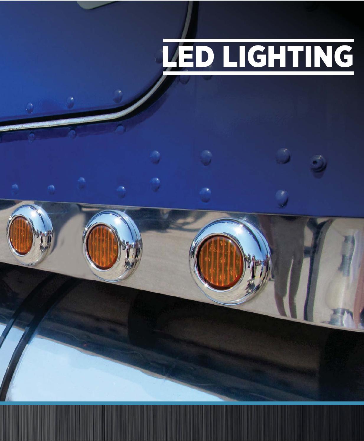"TRUX TLED-G2R Red Marker LED  Light /""Generation 2/"""