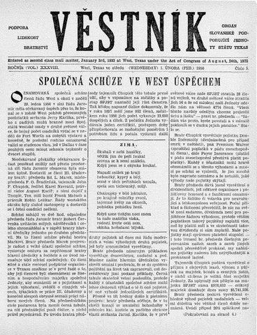 Vestnik 1950 02 01 By Spjst Issuu