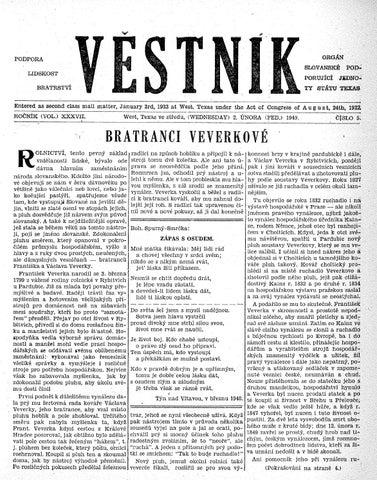 051023d99a Vestnik 1949 02 02 by SPJST - issuu