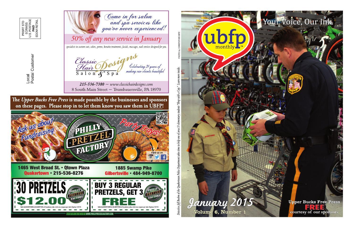 bbf0e19b076 Upper Bucks Free Press • January 2015 by Upper Bucks Free Press - issuu