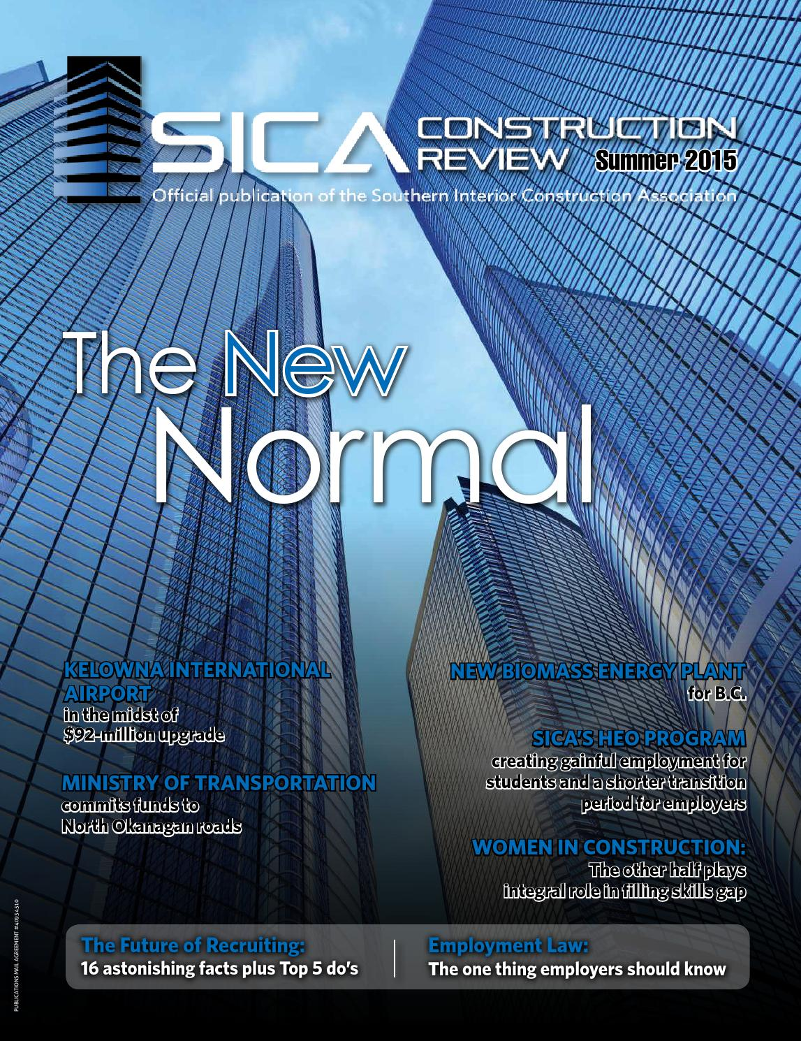 SICA Construction Review - Fall 2015 by SICAbc - issuu