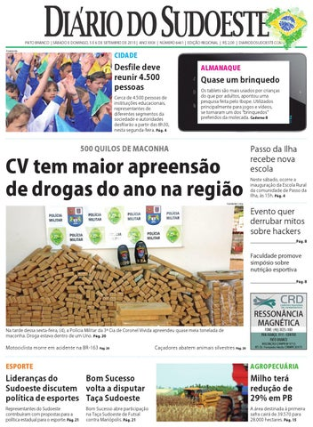 a36a5c1c126f1 Diário do sudoeste 5 e 6 de setembro de 2015 ed 6461 by Diário do ...